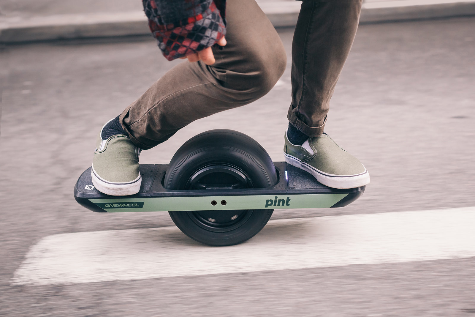 One wheel PINT electric board