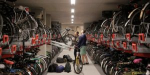 bicycle parking rack dutch