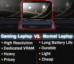 gamer vs ultra laptop